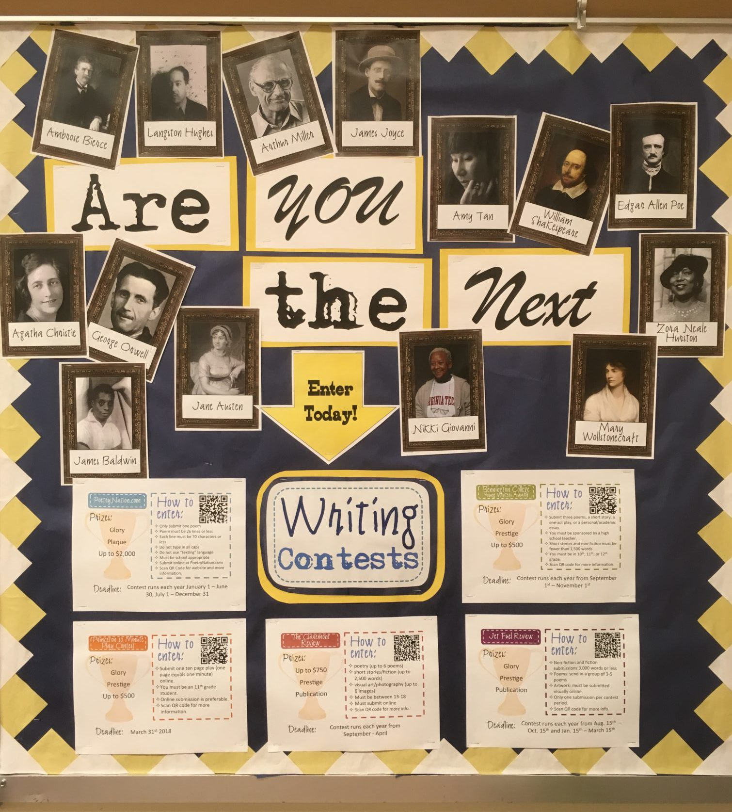 7 reasons why you need a writing contest bulletin board  u2013 engaging and effective teaching